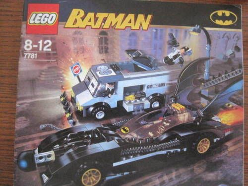 Lego 7781 Batman Two Faces Escape Retired Complete Legoland