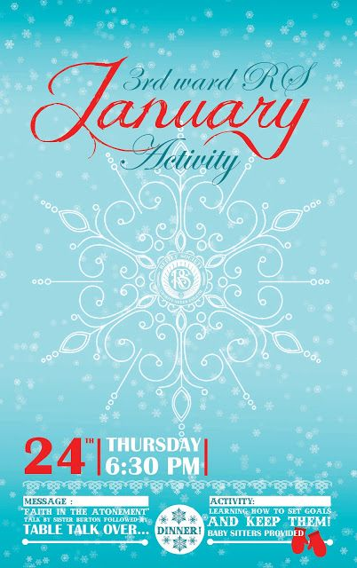 Winter Event Poster Design  Pixel Dust Design Studio