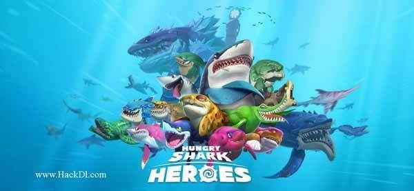 hungry shark evo mod apk revdl