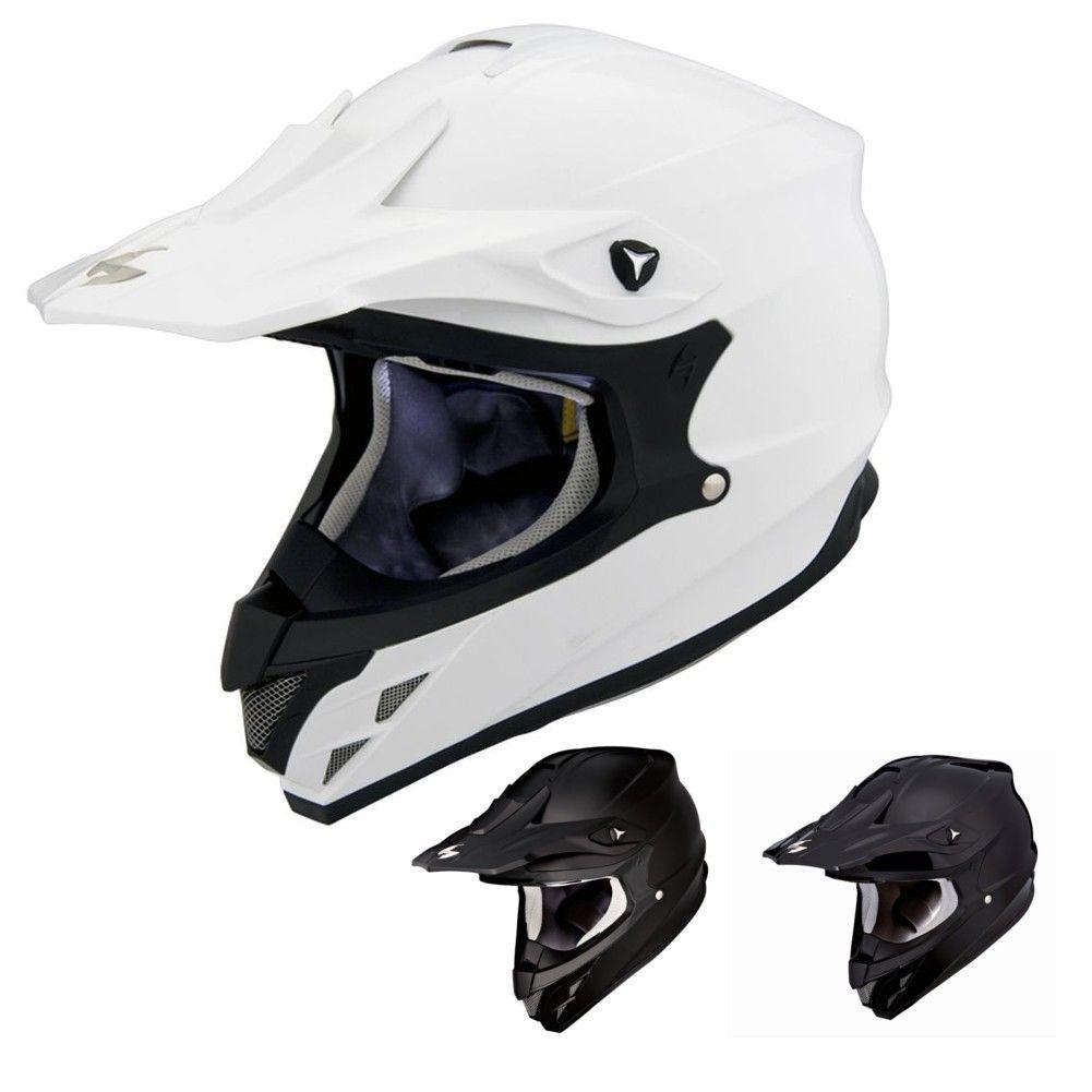 Scorpion Vx 34 Solids Motocross Helmets Motocross Helmets