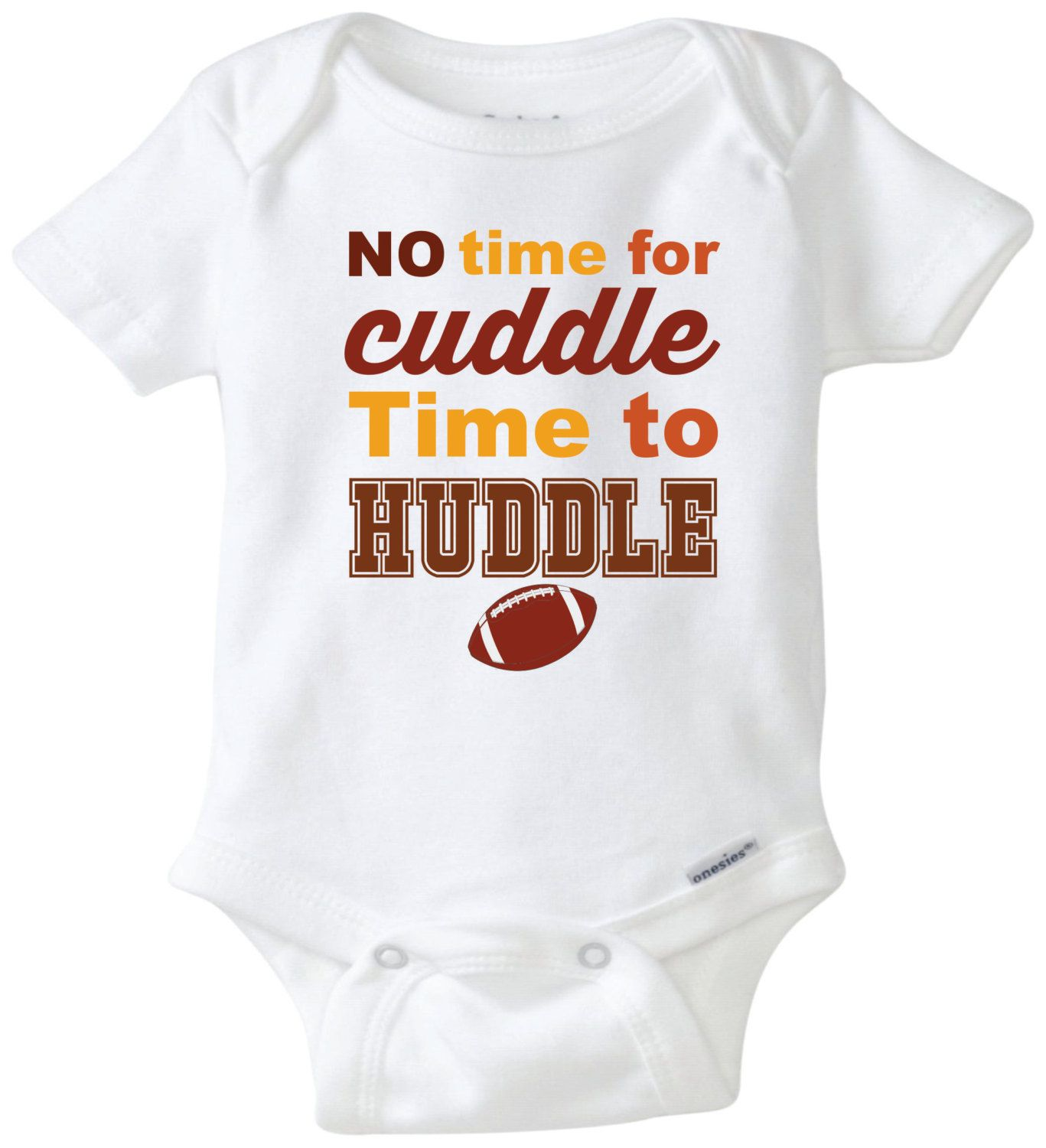 bd5b4286972 Football theme baby bodysuit. Baby onesie. Unisex baby clothing. Newborn  outfit. Baby shower gift by mkclassyprints on Etsy