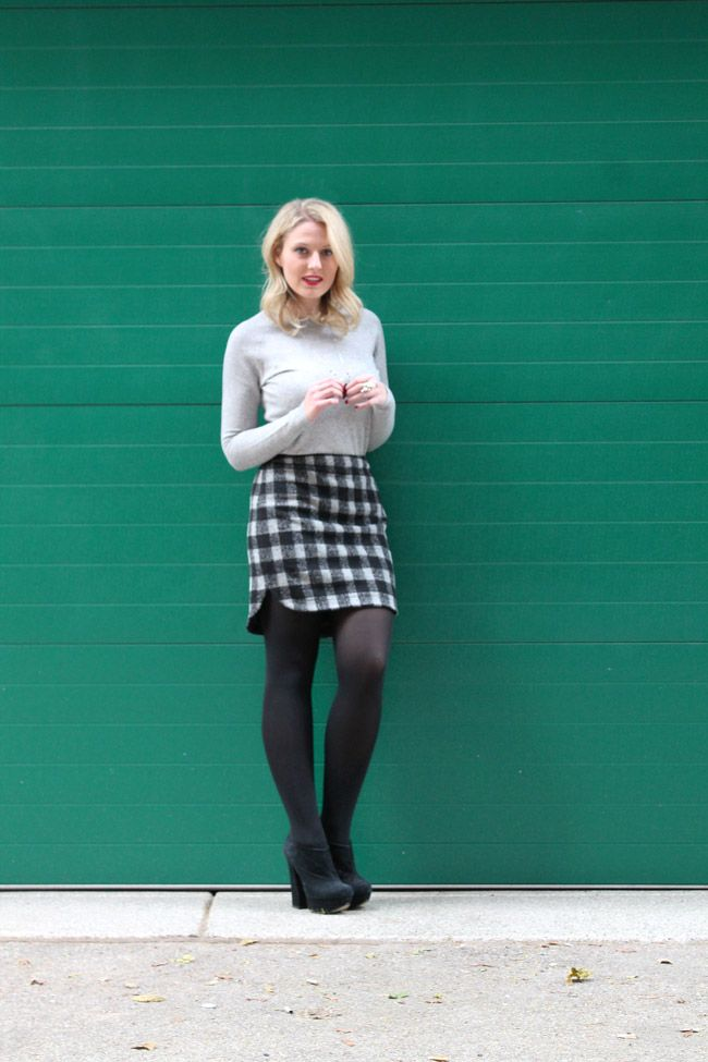 d17e5515b4eff Pin by Aimee on Phase 2 - Gray Tights Outfits | Tights outfit, Grey ...