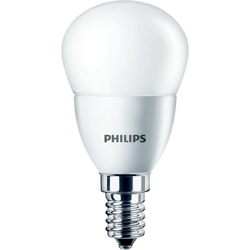 Ampoule De Boule De Led Philips E14 5 5 W 4000k Corelus40840 Led