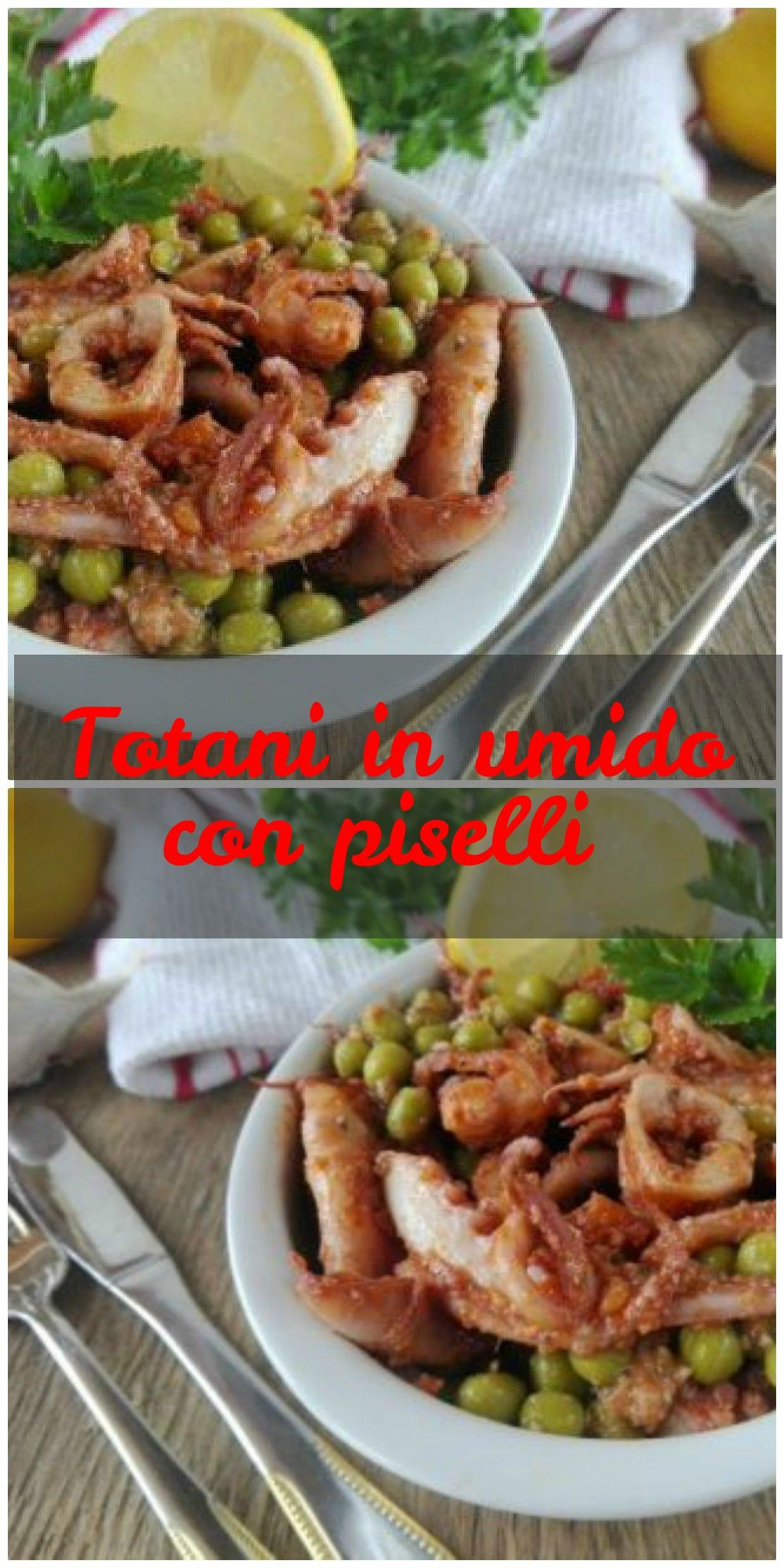 Photo of Stewed squid with peas and tomato
