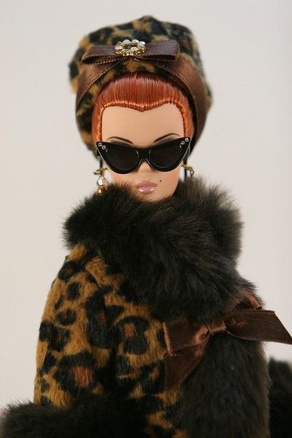 Barbie I had a coat like this for my Barbie