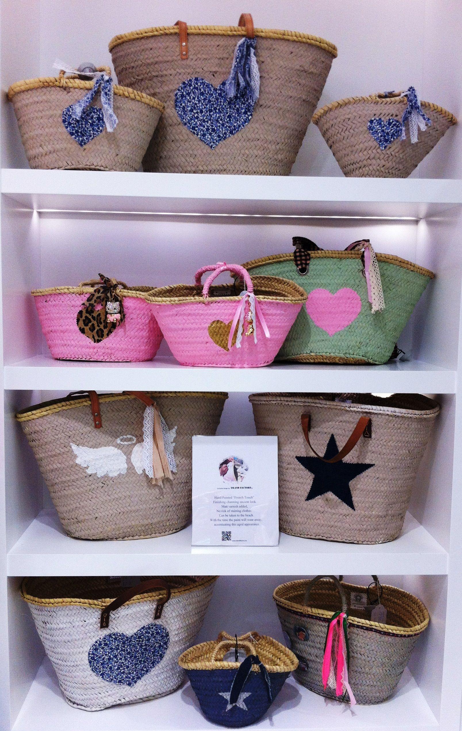 Beach bag cesta playa panier plage wholesale islandfactory - Cestas de playa personalizadas ...