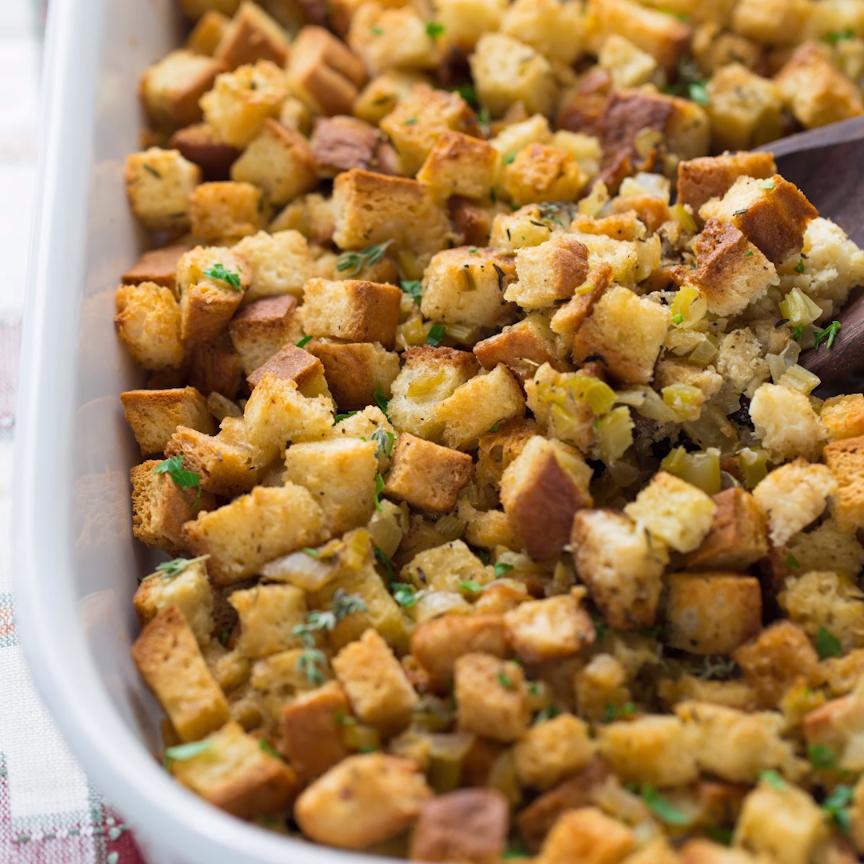 Easy Gluten Free Thanksgiving Recipes: Easy Gluten-Free Stuffing
