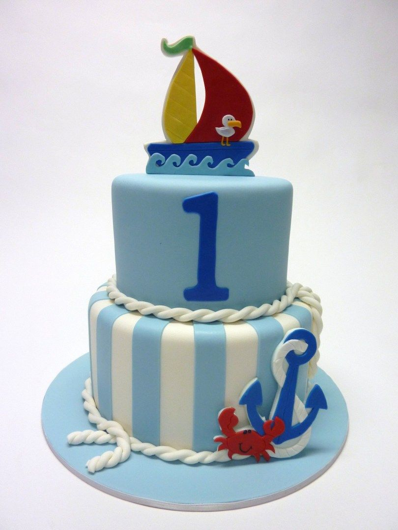 Swell 25 Amazing Image Of Nautical Birthday Cakes Nautical Birthday Personalised Birthday Cards Veneteletsinfo