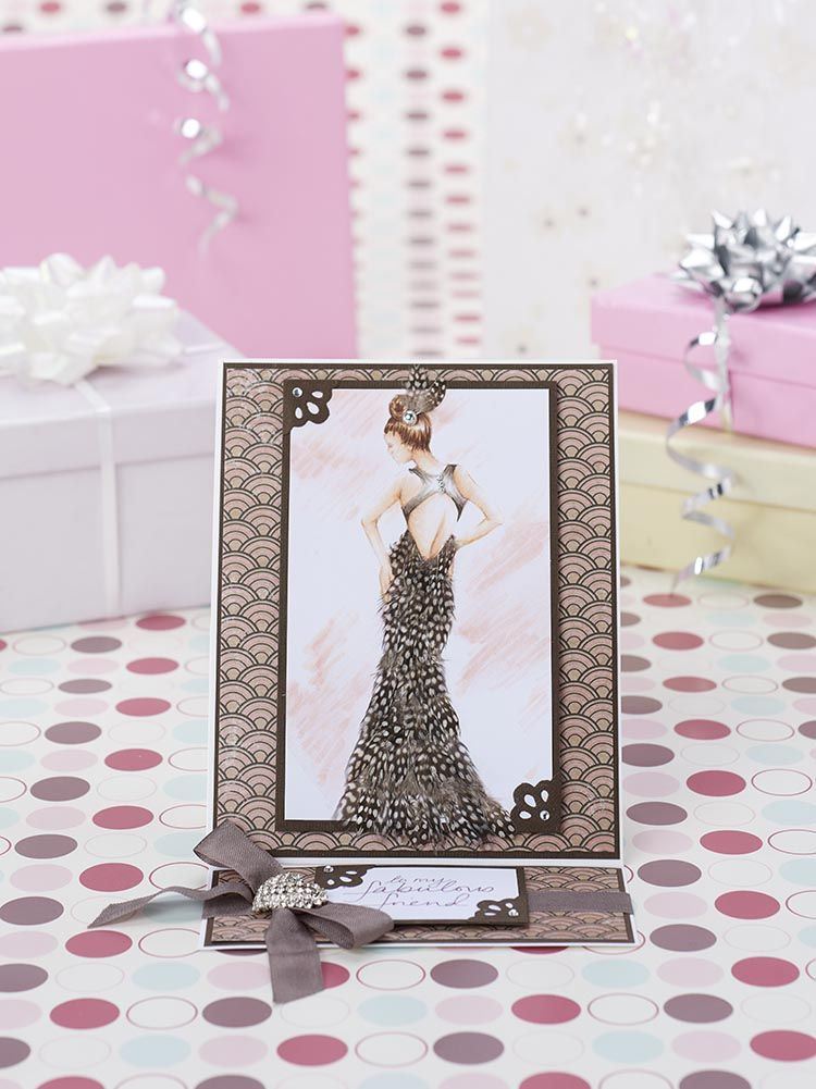 Elegant ladies printable templates from issue 147 of Papercraft ...
