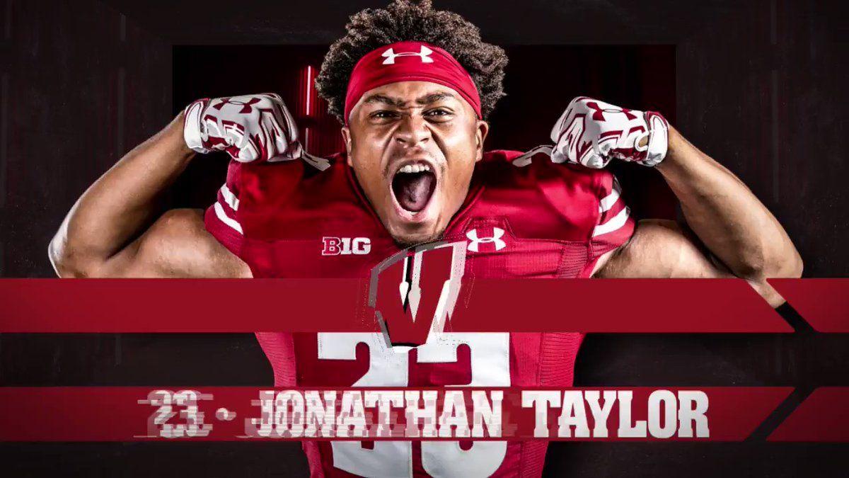 """Wisconsin Football on Twitter """"Jonathan Taylor can run it"""