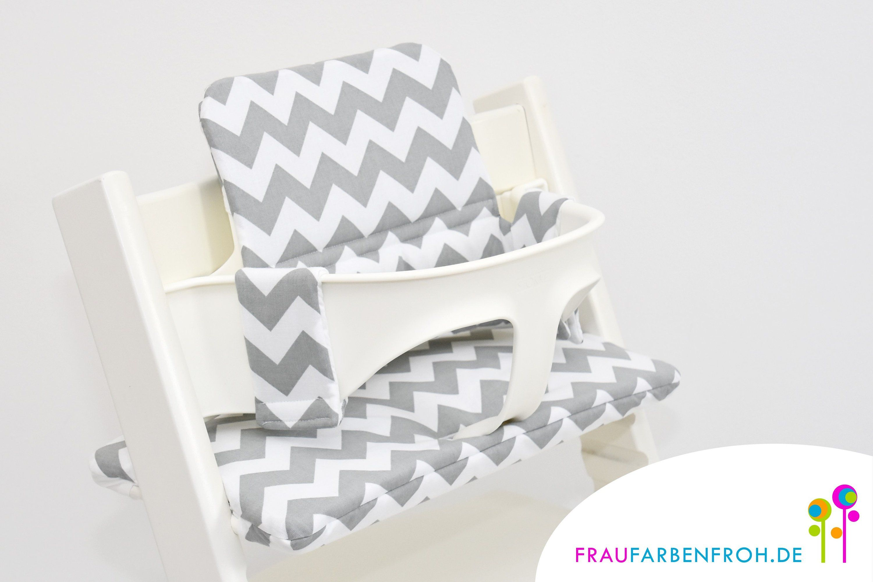 Seat Cushions Set For The Stokke Tripp Trapp Cotton High Chair