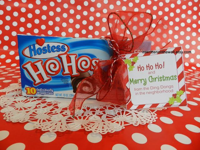 Add a Christmas Tags to your Homemade Christmas Food Gifts-Made with