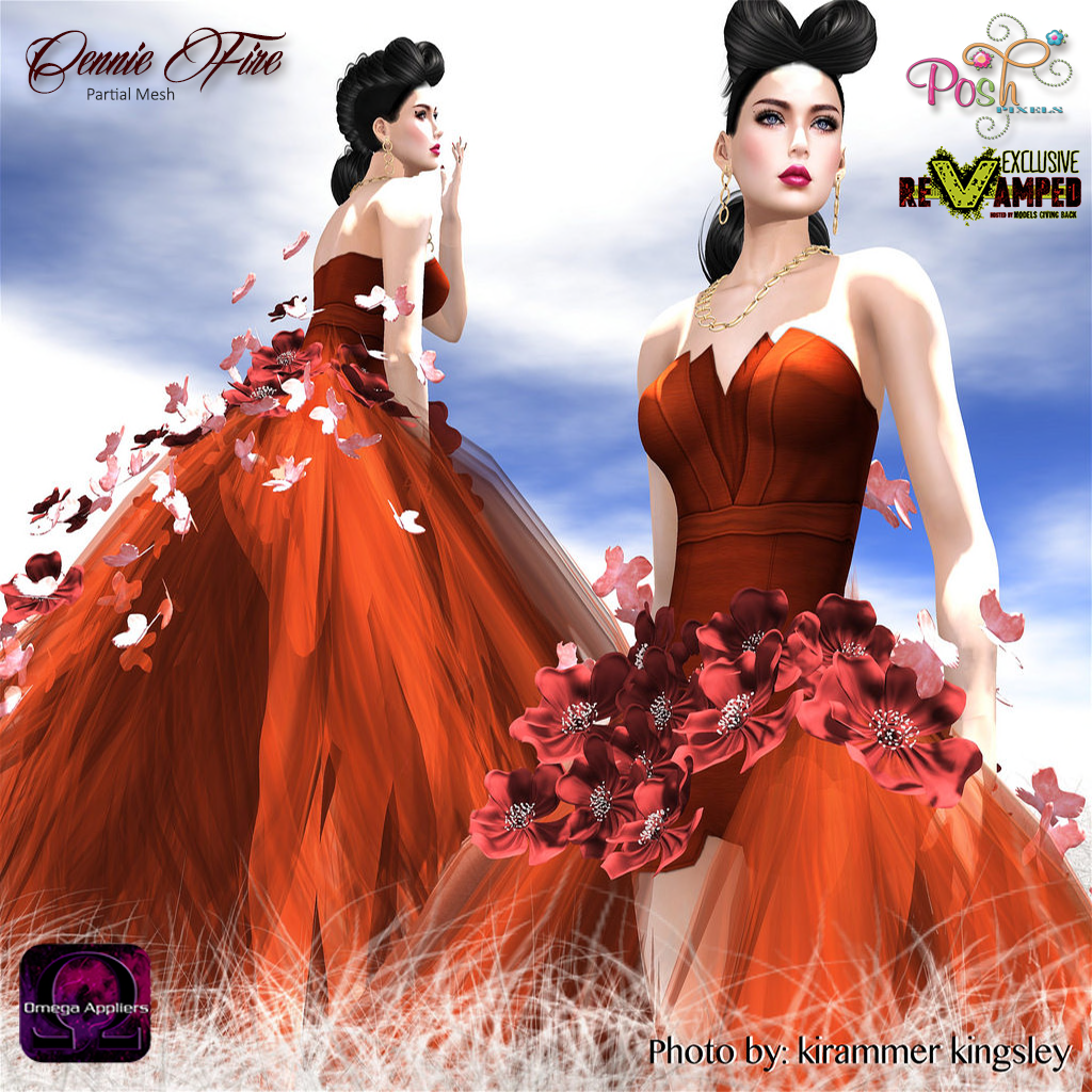 Posh Pixels Cennie Fire The new round has started and until March 20 you can find some beautiful releases at great prices. This one here is Cennie Fire..