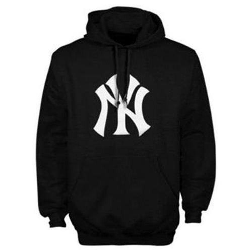 New York Yankees Black Suedetek Logo Hoody Sweatshirt By Majestic Xl Sweatshirts Sweatshirts Hoodie Hoodies [ 1000 x 1000 Pixel ]