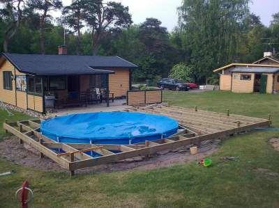 Billig inbyggd pool s k p google pool pinterest for Pool billig