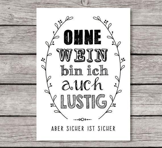 Wein Spruch Lustig