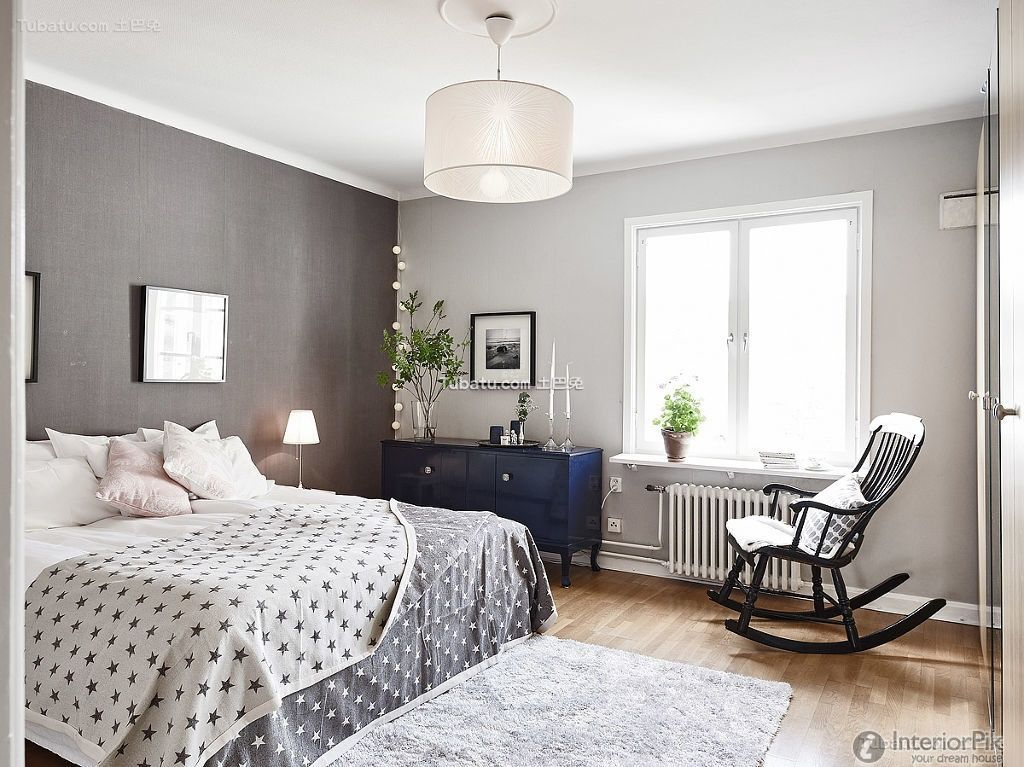 scandinavian style master bedroom - Google Search Interior