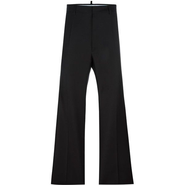 6136214a6abeb Dsquared2 Tailored Wide Leg Trousers ( 565) ❤ liked on Polyvore featuring  men s fashion,