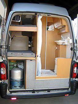 Resultado De Imagen Para Mercedes Sprinter Camper Bathroom In The Cut Away MB Model