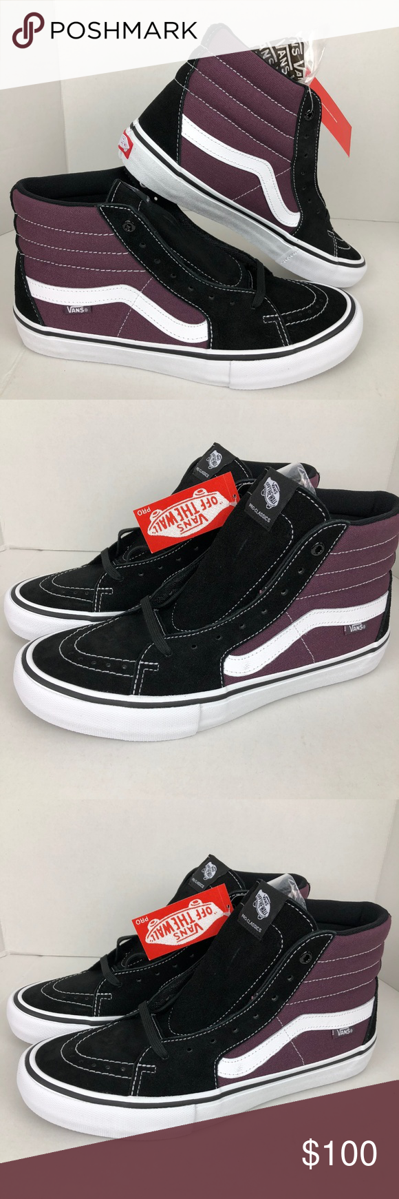 Vans Old Skool Trainers available from Blackleaf