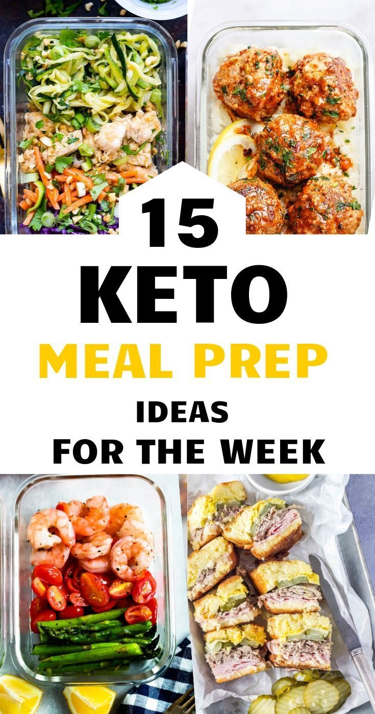 - 15 MEAL PREP IDEAS FOR LUNCH ON YOUR KETO DIET