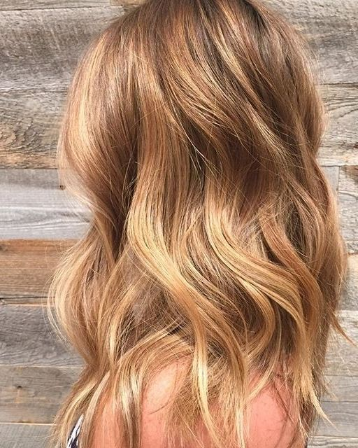 This Beachy Blonde Simply Glows With Warm Honey And Golden Tones