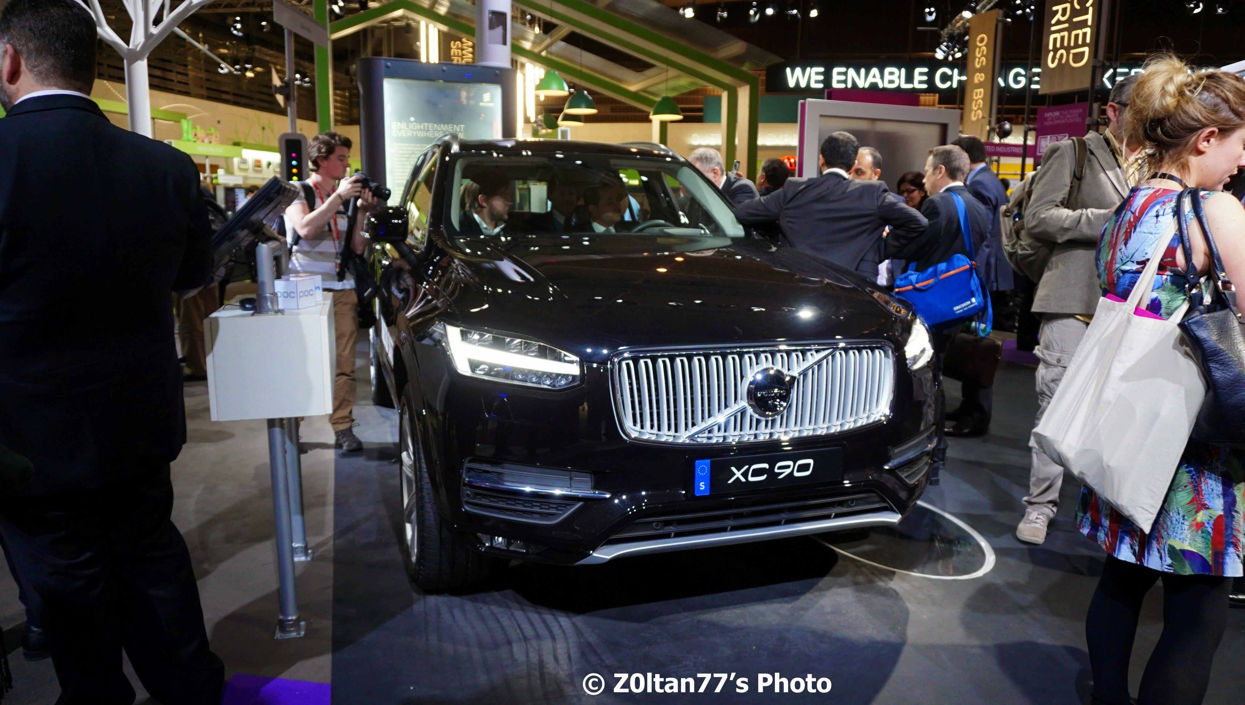 Inovatiile software dezvoltate de Ericsson imbunatatesc experienta masinilor autonome Volvo