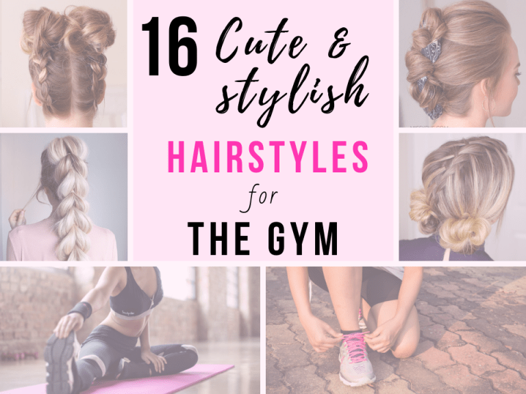 16 Cute Stylish Hairstyles For The Gym Tutorials Kat Blossom Gym Hairstyles Stylish Hair Hair Styles