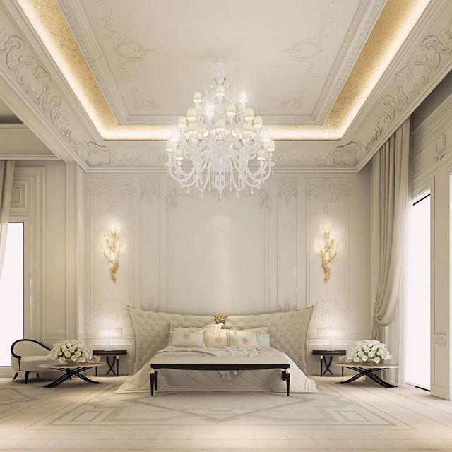 Luxury Master Bedroom Dubai On Behance: Master Bedroom Design - Dubai - UAE