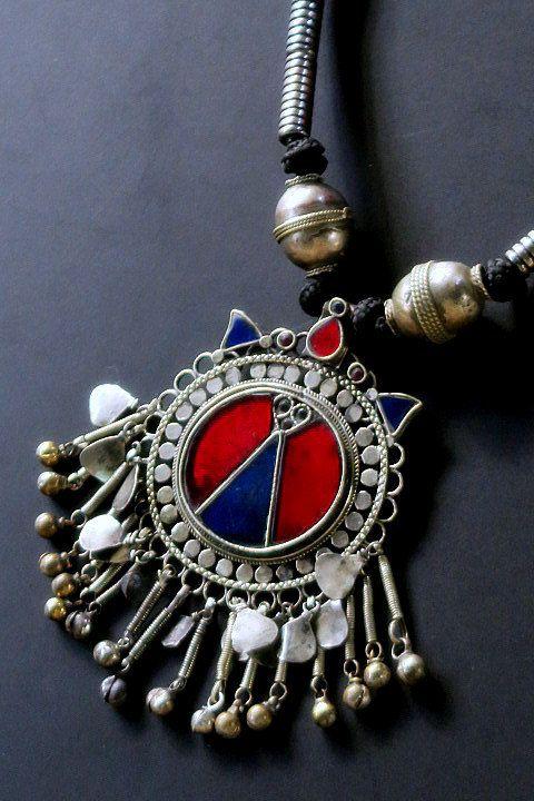 Vintage kuchi necklace large old afghan kuchi pendant necklace vintage kuchi necklace large old afghan kuchi pendant necklace by tribalmuse on etsy aloadofball Gallery