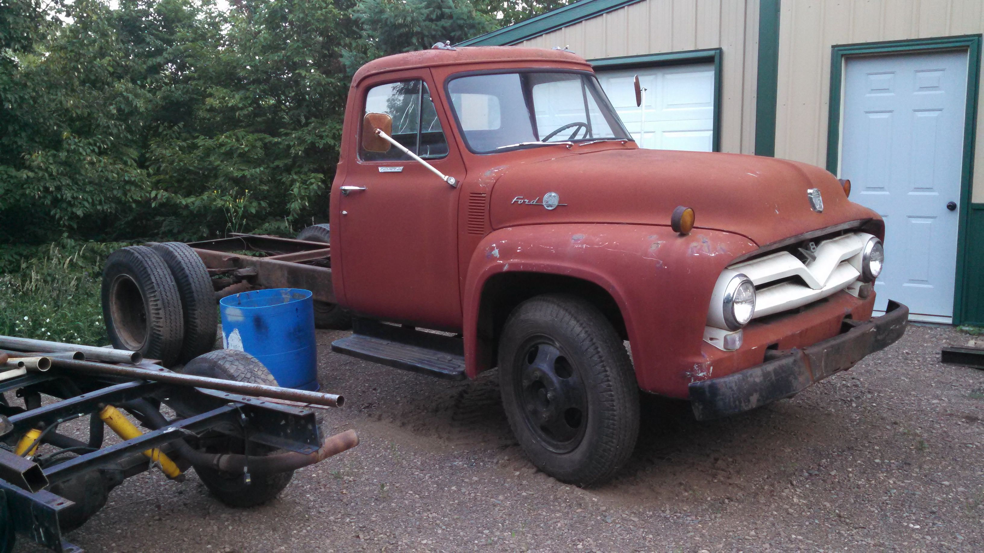 1956 F600 Build Thread Quot Abby Quot Page 10 Ford Truck