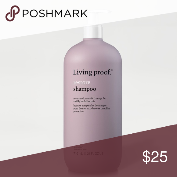 Living Proof Restore Shampoo 24 Oz Restore Shampoo Is Ideal For Dry Damaged Hair It Is Sulfate Free And Silicone Free Saf Shampoo Living Proof Treated Hair