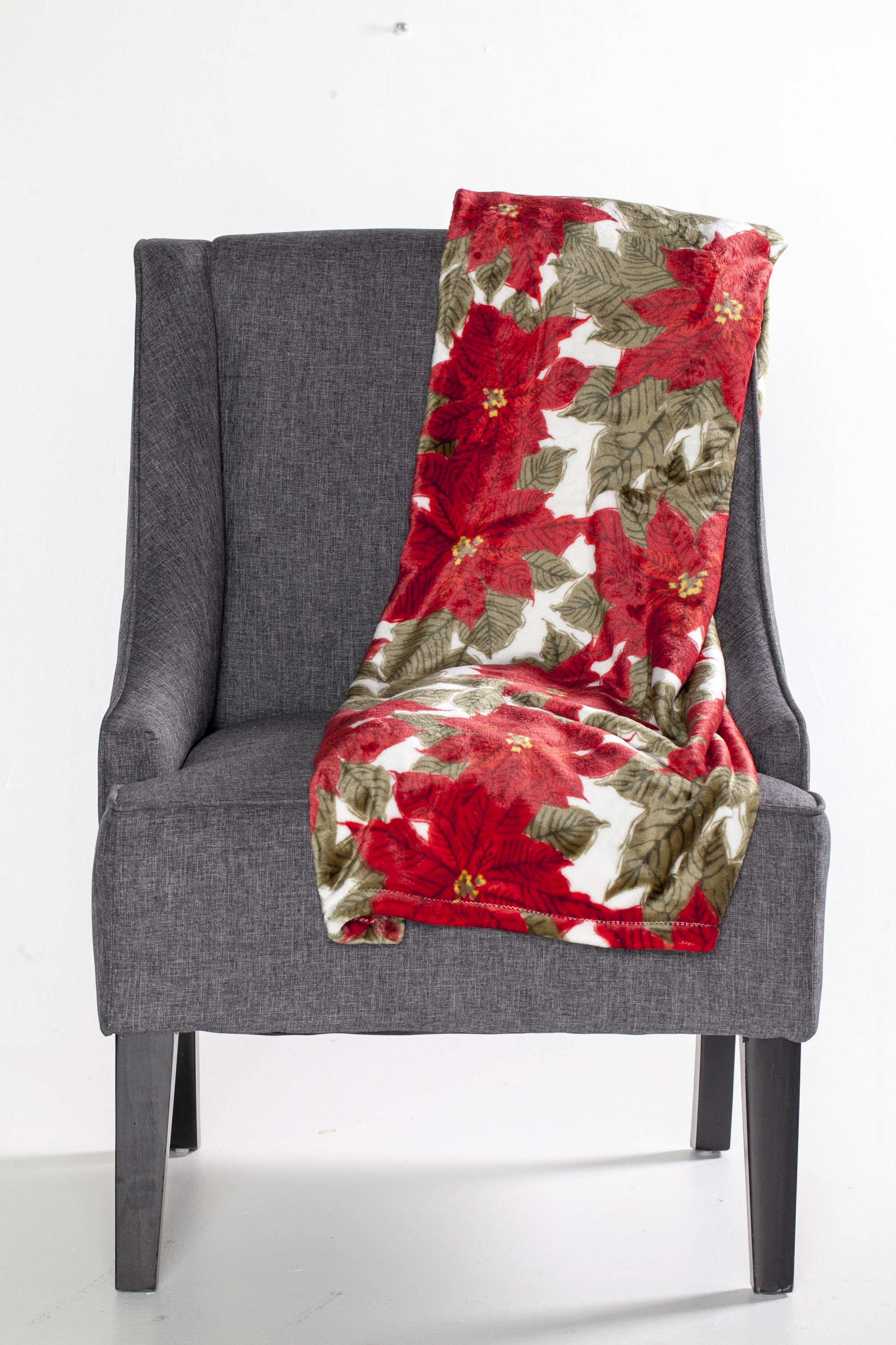 Wait for Santa this Christmas eve in a cozy chair and warm fy