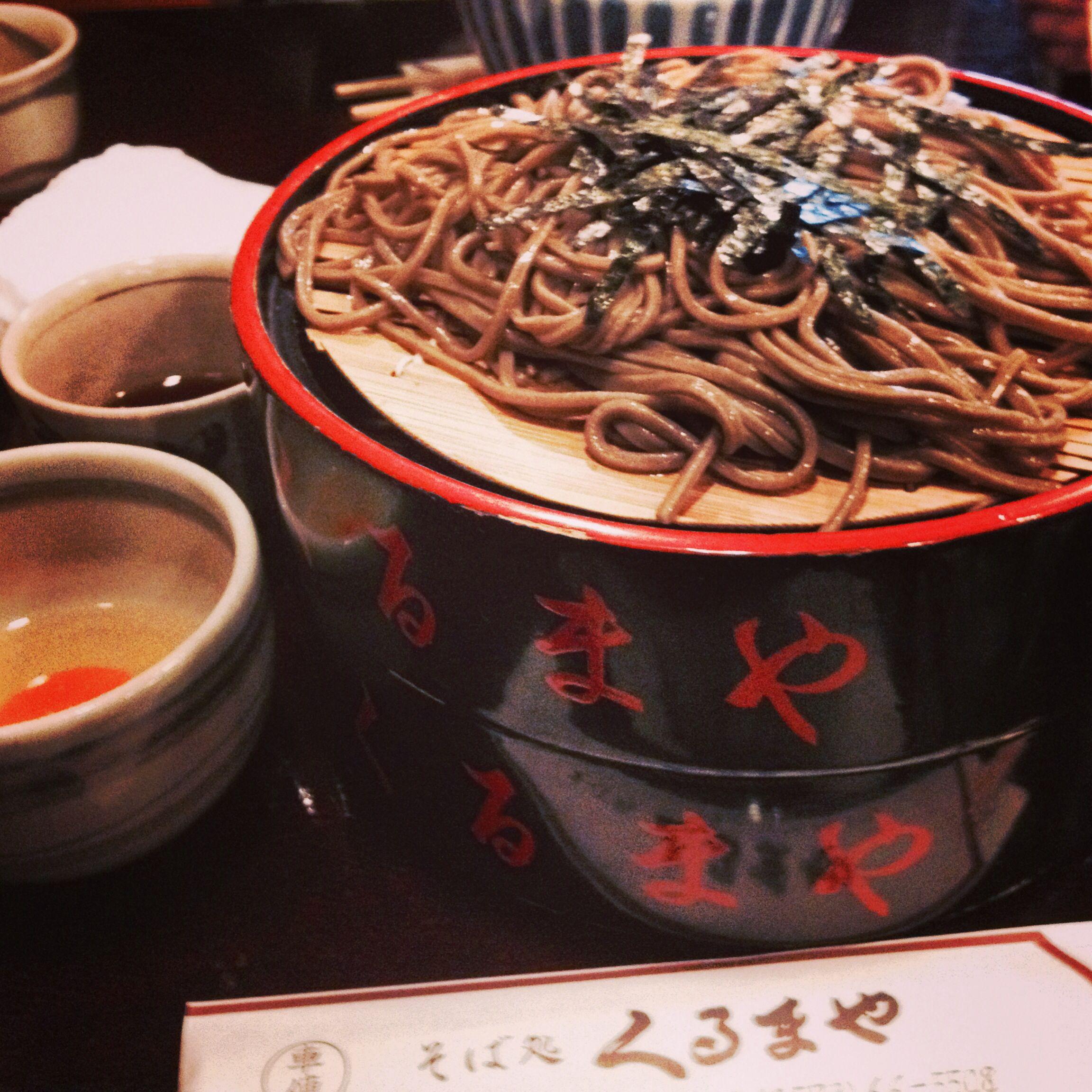 岐阜中津川の美味しい蕎麦