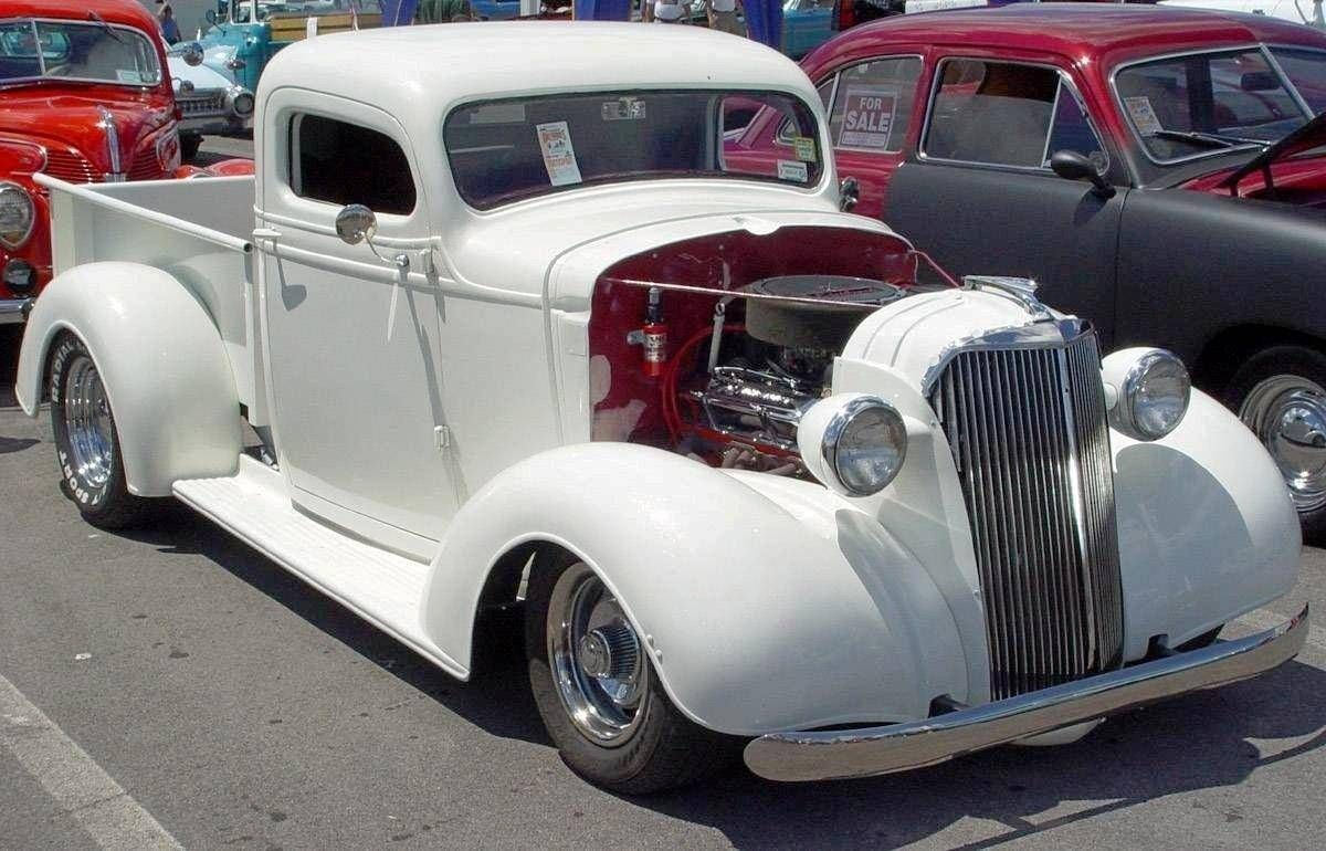 1937 MODEL - CHEVROLET WHITE PICKUP C | Car Pictures | truck ...