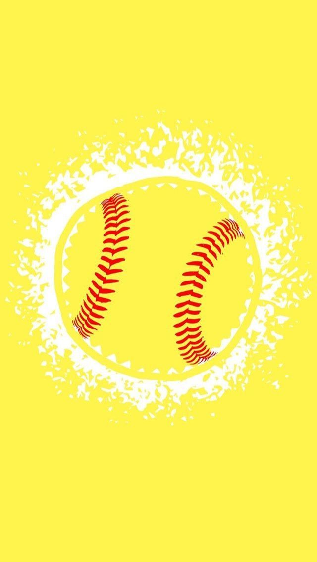 Pin By La Altenthal On Aesthetic In 2020 Softball Backgrounds Volleyball Wallpaper Baseball Wallpaper
