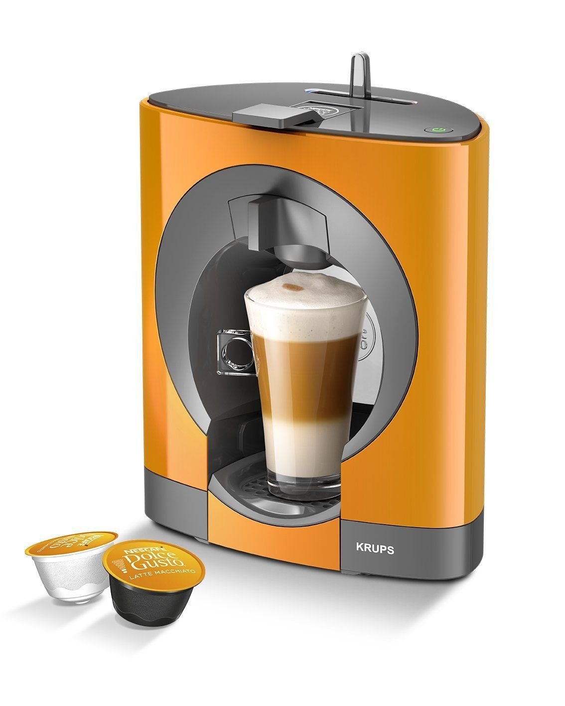 Nescafe Dolce Gusto Oblo Coffee Machine By Krups Black