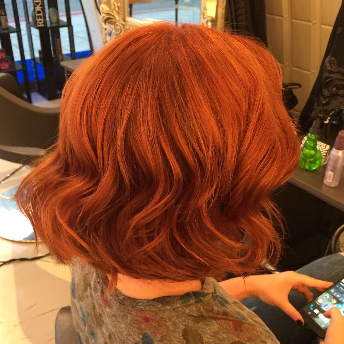Behind The Chair Hair Color - True colour copper balayage by orlando at clapham copper balayage colour