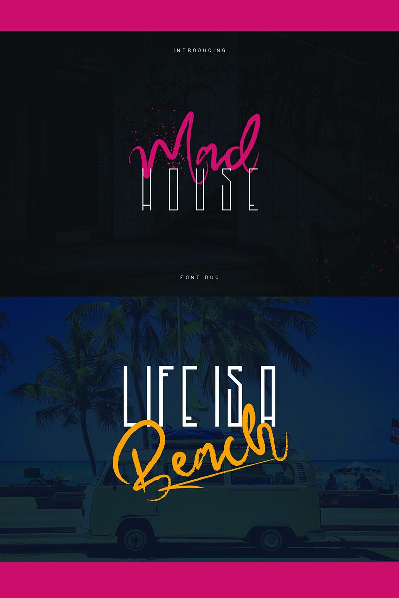 Madhouse Font 78005 Social Media Logos Fonts Media Logo