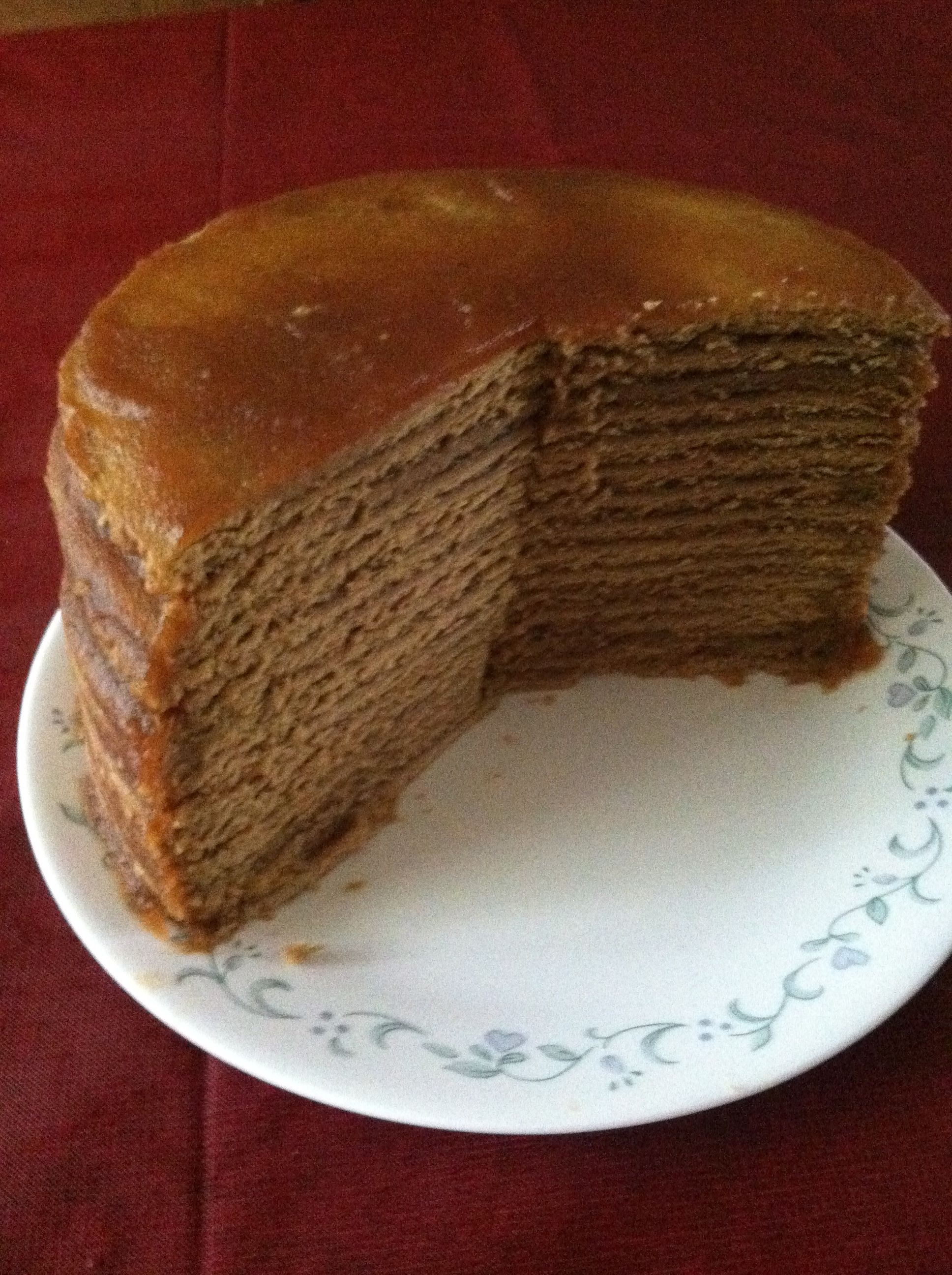 Old Fashioned Stack Cake Recipe With Applesauce
