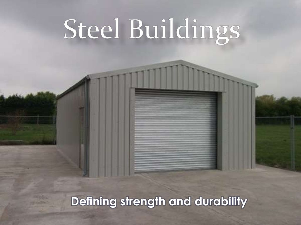Steel buildings make for great storage houses. Check this presentation for a better idea about how you can make sure of the steel buildings.