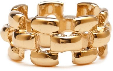 Forever 21 Cutout Chain Link Ring