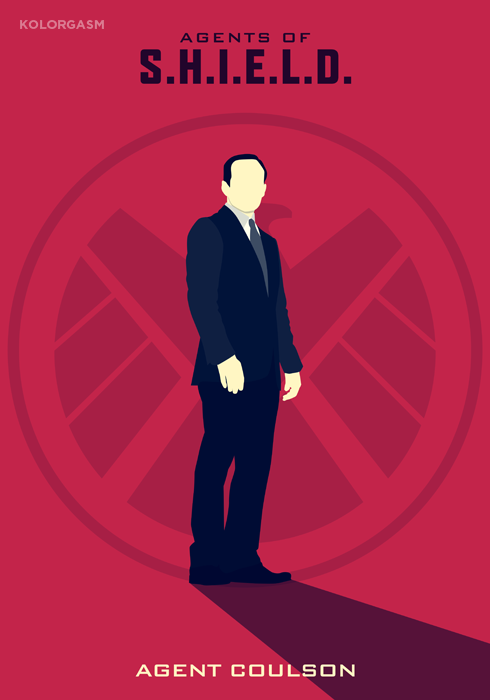 Agent Coulson - Kolorgasm