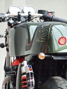 Metisse - Motorradzubehör Metisse Umbaukit Triumph CR900 für Bonneville zur Selbstmontage