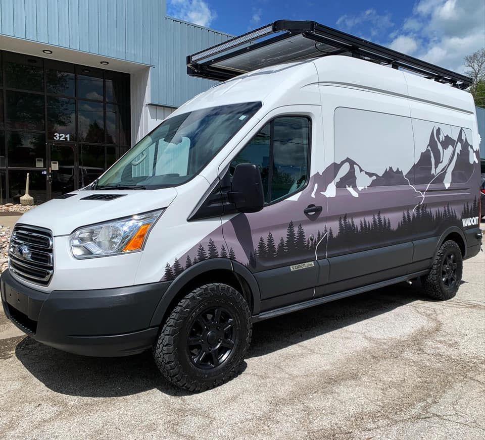 A Camper Van Is Self Isolation On Wheels Ford Transit Camper Ford Transit Van
