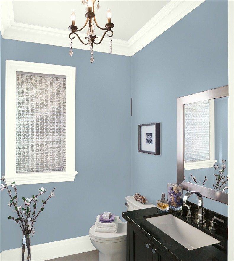 Bathroom Paint Colors, Purple