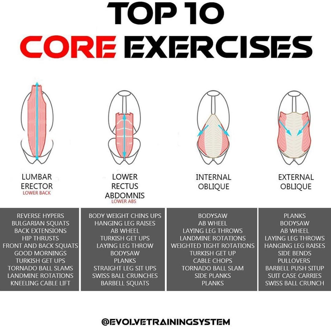 15 The Best Abs Obliques Core Exercises For A Slender Waist