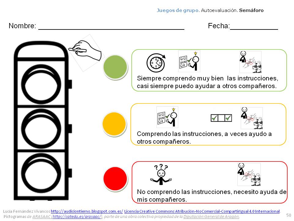 Semáforo adaptado: instrumento para evaluar actividades de grupo ...