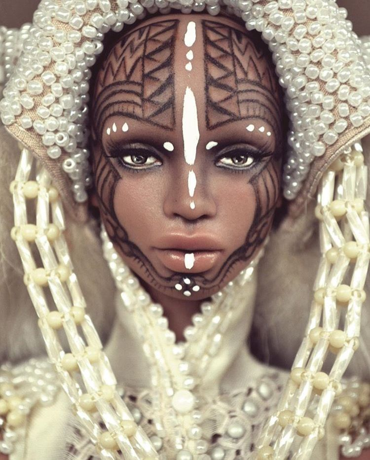 African tribal doll