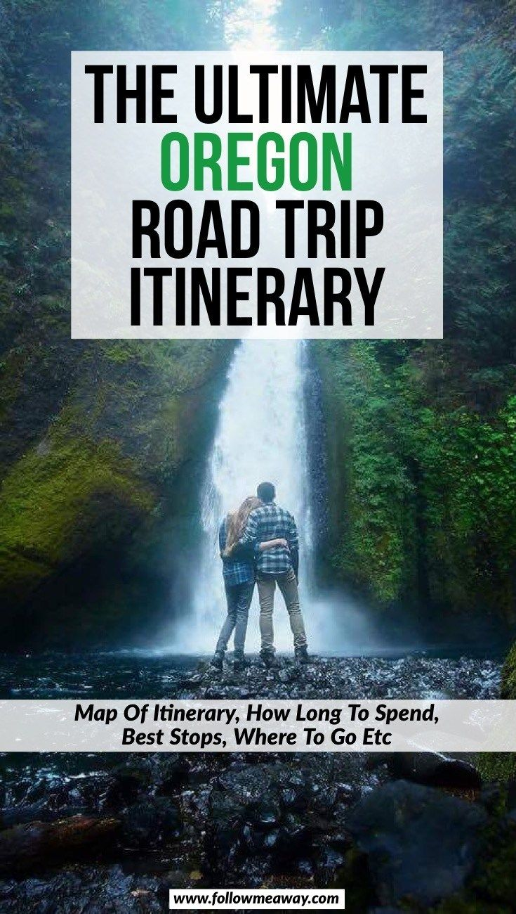 The Ultimate Oregon Road Trip Itinerary You Should Steal - Follow Me Away #westcoastroadtrip